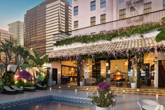 Normal the remodeled hotel figueroa wants to change the way you think about with hotel figueroa pool